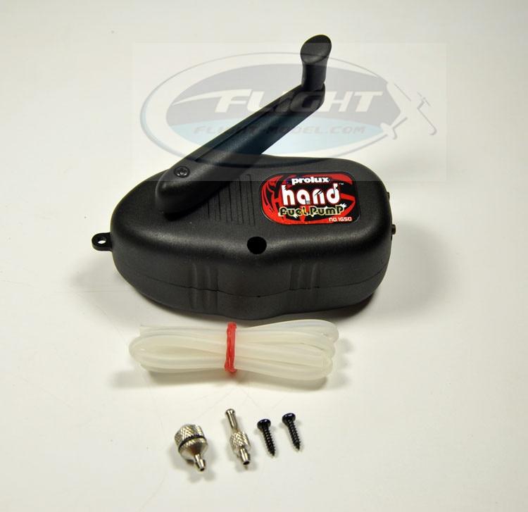Prolux PX1650 Fast Fuller Hand Fuel Pump for Gasoline Nitro Engine Black Color Update