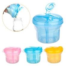 Портативный дозатор для молочного порошка, контейнер для еды, контейнер для хранения бобов для детей, детская бутылочка для путешествий