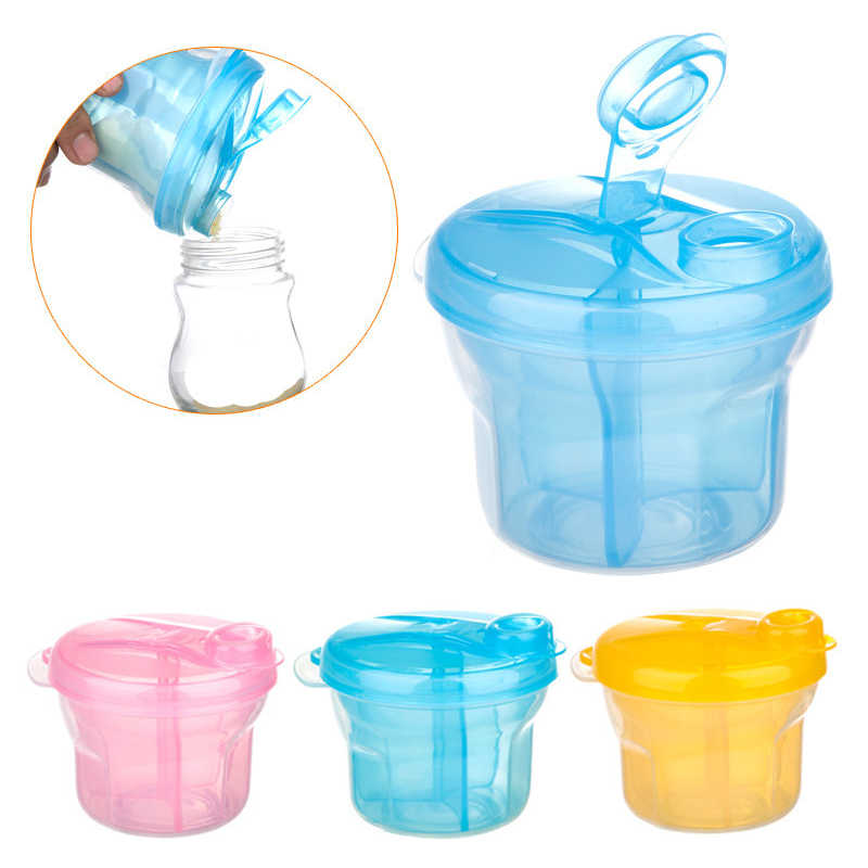 Portable Milk Powder Formula Dispenser Food Container Infant Bean Storage Box for Kids Baby Care Toddler Travel Bottle