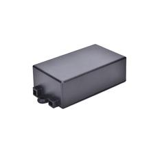 1 sztuk 65*38*22mm czarna wodoodporna plastikowa obudowa projekt pokrowiec na przyrząd elektroniczny obudowa tanie tanio JETTING Elektryczne other Waterproof Plastic Electronic Project Box