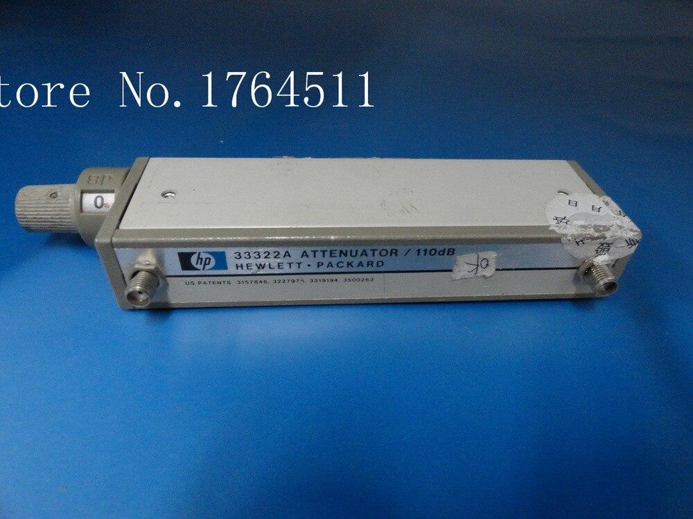 [BELLA] Original33322A Adjustable Step Attenuator DC-4GHZ 110dB SMA