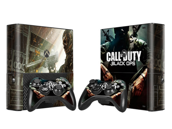 Call of Duty Style Vinyl Skin Sticker Protector for Microsoft Xbox 360 E and 2 Controller Skins Stickers For XBOX360 E