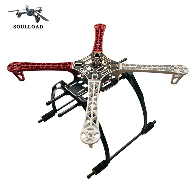 drone f450 quadcopter frame kit landing gear f450 arm dji wheel kit for kk mk mwc - Dji F450 Frame