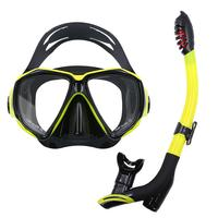 Professional Scuba Glasses Goggles Swimming Diving Mask Anti fog lens Super clear Vision Silicone Comfortable Diving Snorkel