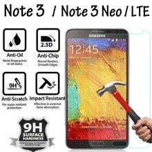 SM N7505/SM N900 N9005 Vetro di Protezione Per La Nota di Samsung 3 Note3 Neo LTE Temperato Pellicola di Vetro per la Nota della GALASSIA 3 protezione dello schermo
