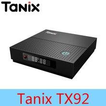 Tanix TX92 TV Box Amlogic S912 Octa-core CPU Android 7.1 OS Bluetooth 4.1 1000M LAN Max 3G RAM 64G ROM 64Bit 4K 2.4G/5G Wifi