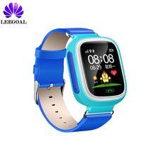 Leegoal G7 Bebé Reloj Smartwatch Inteligente Con WIFI GPS Dispositivo de localización de Llamadas SOS Tracker Para Niños Seguros Anti-perdida Monitor