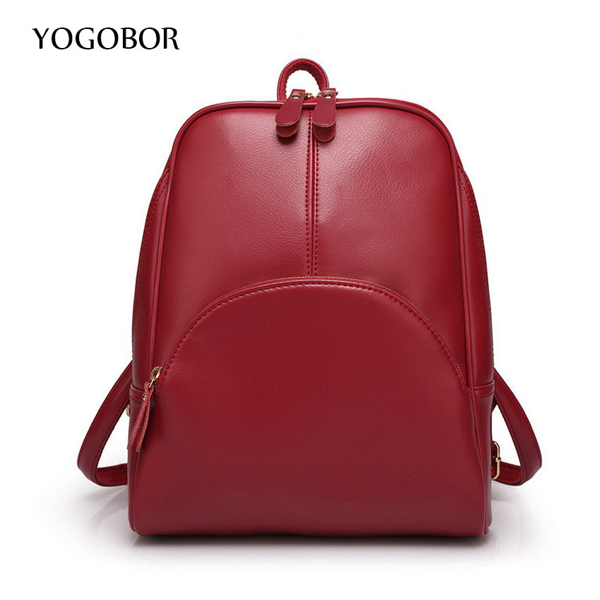 YOGOBOR Backpack Women Genuine Leather Bag Women Bag Cow Leather Women Backpack Mochila Feminina School Bags for Teenagers miwind new backpack women school bags for teenagers mochila feminina women bag free shipping leather bags women leather backpack