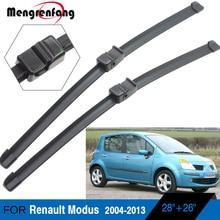 Для Renault Modus Grand modus лобовом стекле автомобиля щетки стеклоочистителей бескаркасные 2004 2005 2006 2007 2008 2009 2010 2011 2012 2013