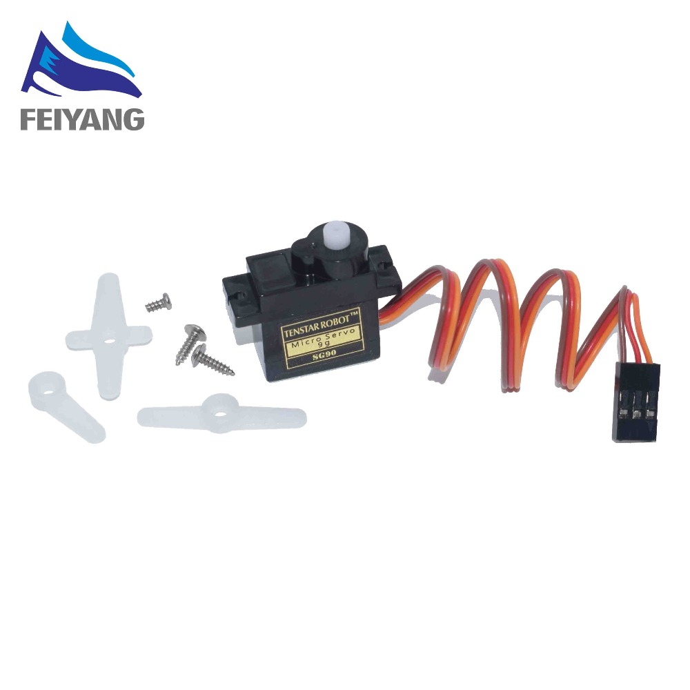 1PCS Black SG90 Pro 9g micro servo for airplane aeroplane 6CH rc helcopter kds esky align helicopter sg90