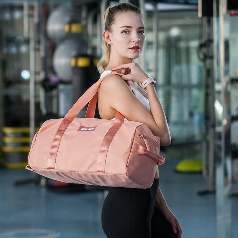 Gym bag, women's bag, tide shoulder, yoga bag, portable sports training bag, dry and wet separation, waterproof swimming bag. gym bag women s bag tide shoulder yoga bag portable sports training bag dry and wet separation waterproof swimming bag