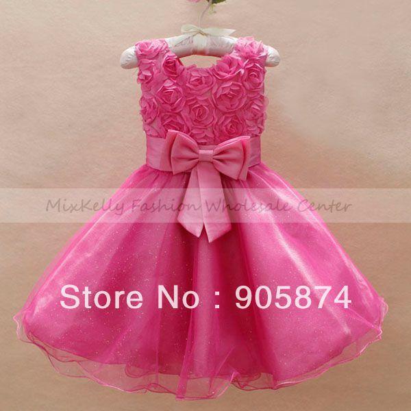 Bow kids rose partido del cordón del bebé ropa para bebés de boda jpg  600x600 Princesa d73aed9e6b32