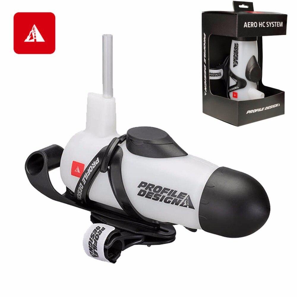 Triathlon Drinking System Bottles Cages Profile Design Aero HC System Triathlon Aerobottle Bottle