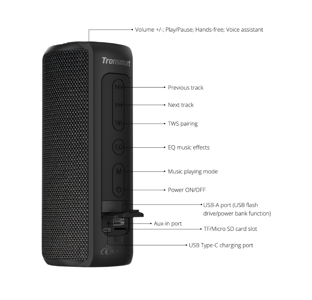 Tronsmart T6 Plus Bluetooth Speaker 10