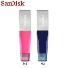 Sandisk USB Flash sürücü iPhone için OTG kalem sürücü HD Memory Stick 64GB 128GB Pendrive Usb 3.0 Usb sopa yıldırım konektörü