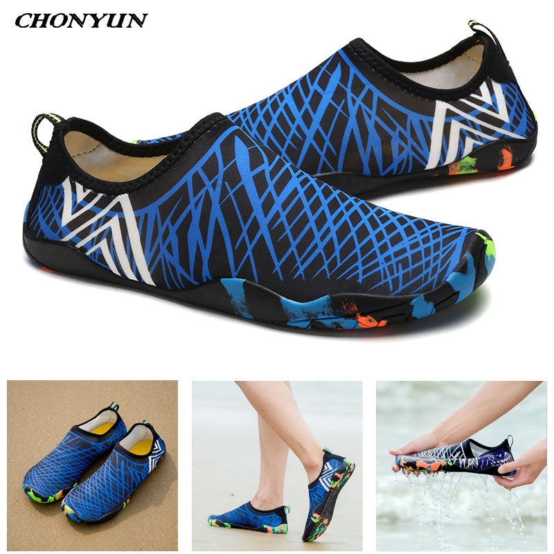 Outdoor Water Shoes Swimming Barefoot Beach Shoes Fit Skin Quick Dry Surf Walking Sneakers For Unisex Yoga Socks Wading Shoes