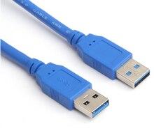 10 Uds 1M 3 pies USB 3,0 tipo A macho adaptador de extensión AM Cable HDD