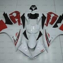 YZFR1 2009-2011 для кузова yamaha YZFR1 2011 Обтекатели YZF1000 R1 2011 белый красный мотоцикл обтекатель