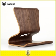 Baseus Natural Walnut Wooden Tablet PC Desktop Stand Holder Bracket Mount for ipad Air 5 6 mini 2 3 4 Pads