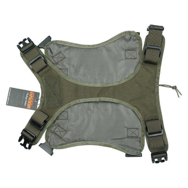 EXCELLENT ELITE SPANKER Tactical Battle Dog Clothes Suit Military Outdoor Training Molle Vest Harness Pets Hunting Accessories 3