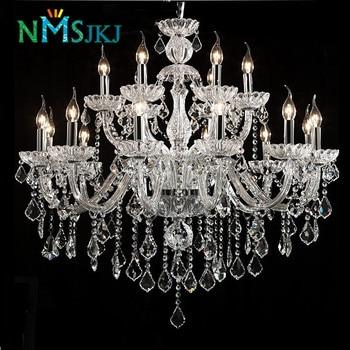 Large Crystal Chandelier Lighting Crystal Light Fashion ...