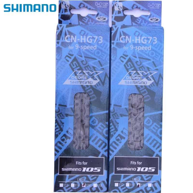 SHIMANO CN HG73 HG53 инструмент для демонтажа цепи велосипеда (9 Скорость 27 Скорость переключения цепи MTB горный велосипед MTB Аксессуары для HG50-9 цепи