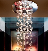 New Modern Leucos Murano Due Bubble Glass Chandelier by Patrick Jouin from Leucos Lighting Fixture(China)