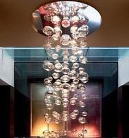 Nowy nowoczesny Leucos Murano Due Bubble szklany żyrandol patricka jouina z Leucos oprawa oświetleniowa w Wiszące lampki od Lampy i oświetlenie na