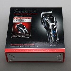 Image 5 - Turbo barber hair clipper professional hair trimmer men beard car electric hair cutter adjustable hair cutting machine haircut