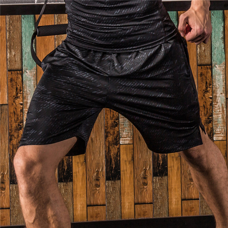 FANNAI Summer Sport Shorts for Men Elastic Waist Quick Dry Running Shorts with Pocket Basketball Soccer Fitness Gym Shorts in Running Shorts from Sports Entertainment