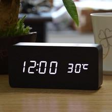 2015 Upgrade LED Alarm Clock,Desper Tador Temperature Sounds Control LED Display,Electronic Desktop Digital Table Clocks