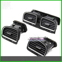 front LEFT RIGHT Air Conditioning Outlet Center Armrest Air Vent Assembly VENTS FOR GOLF 6 GTI MK6 2009 2013 5KD 819 728 703 704