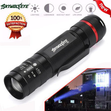 world-wind#3011 3000LM Zoomable new XM-L T6 LED 18650 Flashlight Torch Super Bright Light free shipping