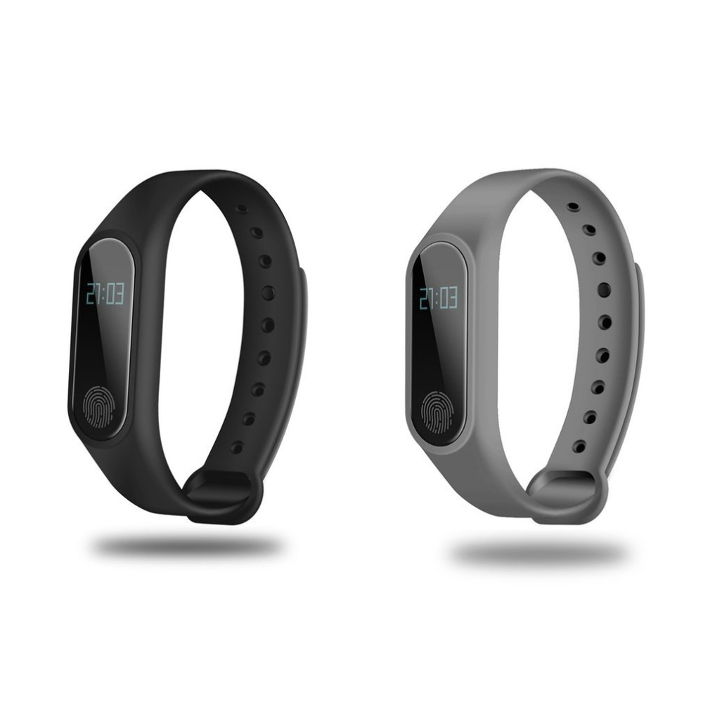 US $8 07 31% OFF|0 42 Inch OLED Display Smartband Bluetooth Heart Rate  Monitor Time Display Sleep Monitor Health Care Smartband for IOS-in Smart