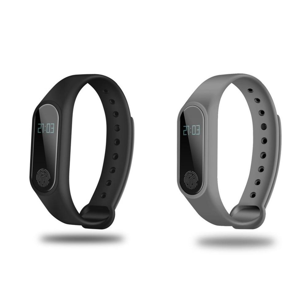 0,42 Inch OLED Display Smartband Bluetooth Heart Rate Monitor Zeit Display Schlaf Monitor Gesundheit Pflege Smartband für IOS