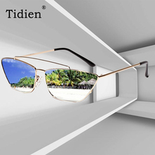 Tidien Fashion Metal Brand Designer Cat Eye Plastic Sunglasses Women Vintage Retro Travel Beach Female Cateyes Sunglass 813042