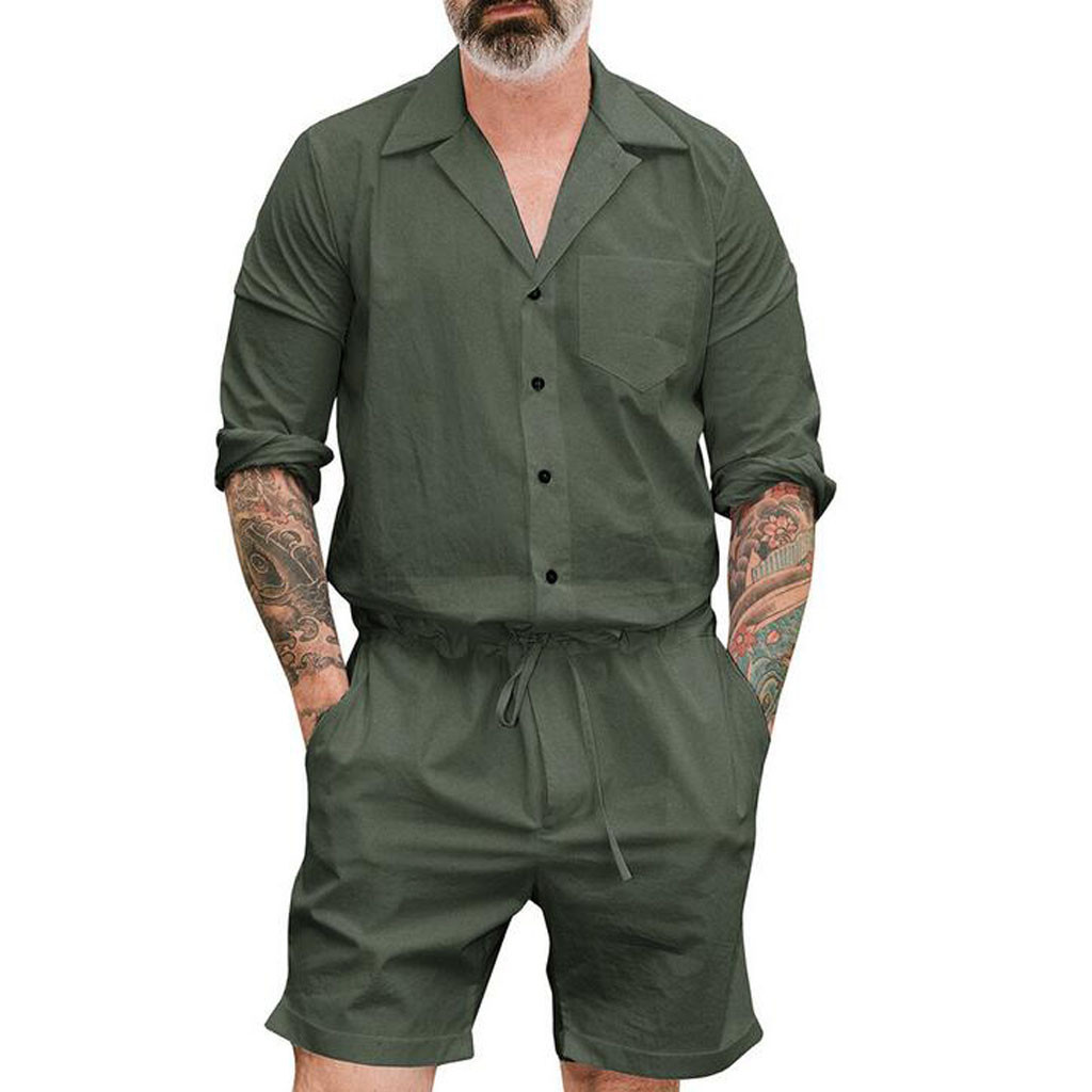 Masculina Männlichen Kleidung Overalls Overall Männer Set Strampler Overalls Sleeveless Overalls Anzug Strampler Jogger Hiphop Baggy Solide Herrenbekleidung & Zubehör