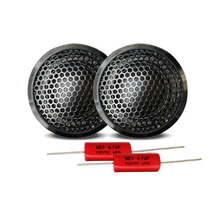 2pcs car audio speaker 25mm ASV silk dom