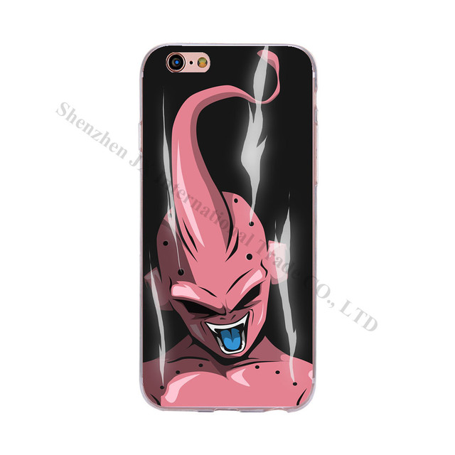 Anime Style Cartoon Dragon Ball Z Apple iPhone 7 6 Plus 5 5s 6s SE
