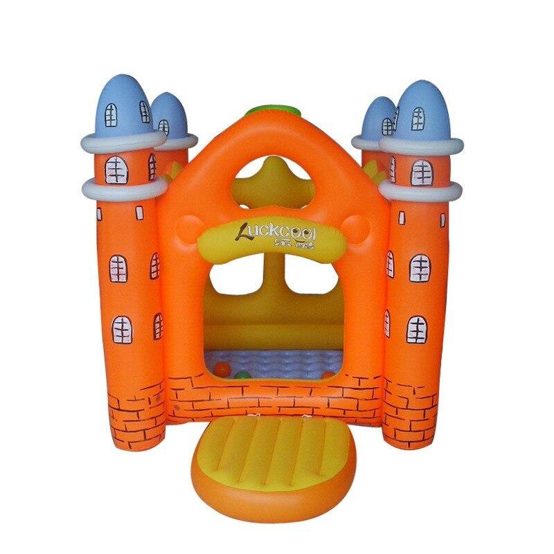 Maison gonflable heureux jours paradis château gonflable avec Fort vilain grand jouet gonflable enfants château L1665