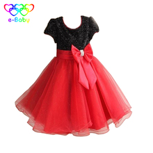 New girl dresses 2-12 years lolita style Kids girl summer dress 2017 fashion solid children clothes dresses for girls EB917
