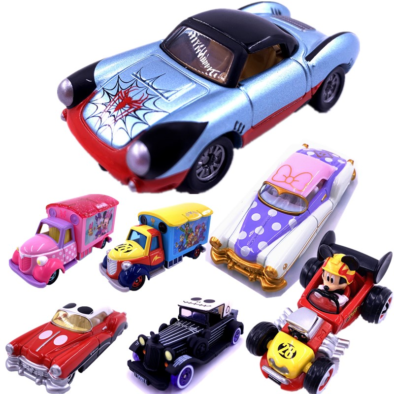 Takara Tomy Tomica Dreamstar Metal Diecast Vehicles Funk Toy Cars Various Types Mickey Spider-man Iron Man Children's Toys Gifts
