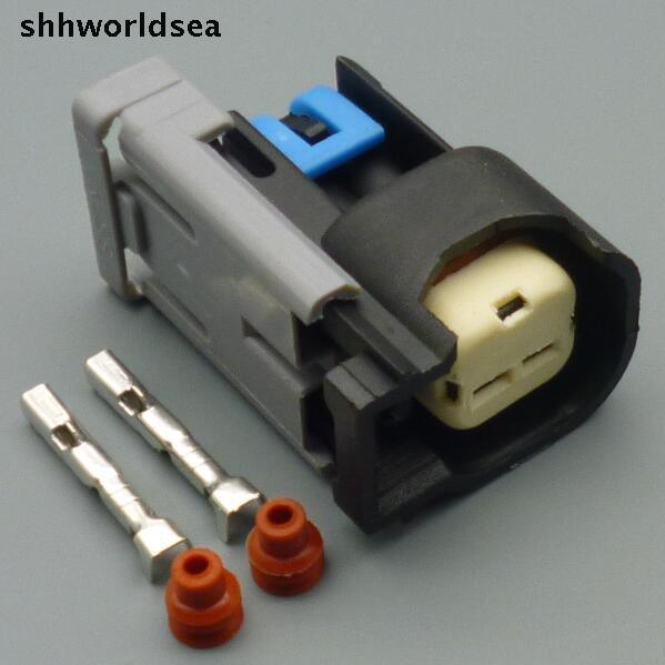 Shhworldsea 4  15  50  100sets 2 Pin Car Cable Wire Harness