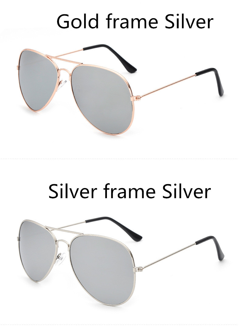 ASUOP2018 new ladies retro cat eye sunglasses luxury brand fashion men's pilot glasses UV400 night vision goggles night vision goggles (1)