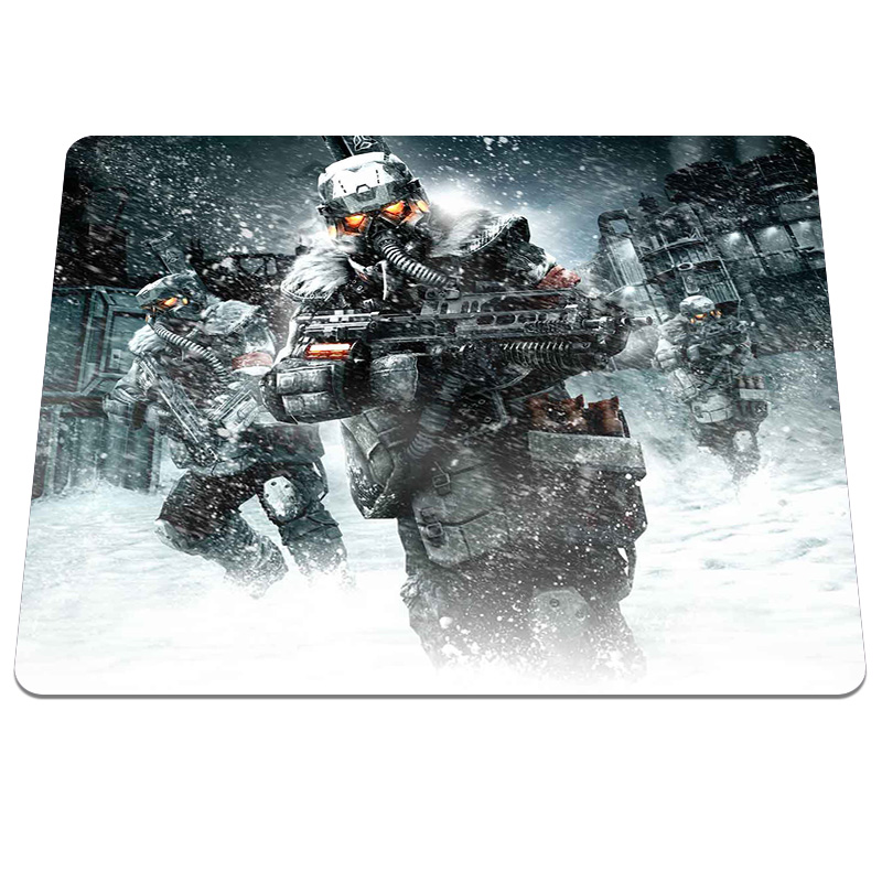 New Brand Killzone Printing Mouse Pad Customized Rectangle Silicone Gaming Mousepad Computer Notebook Rubber Anti-slip Mice Mat ...