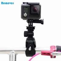 Support de guidon de moto de haute qualité avec clip fixe pour caméras d'action Gopro Hero 3 3 + 4