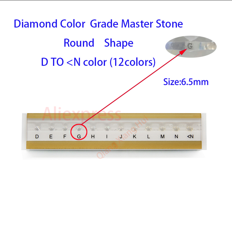 Image 4 - The specifications of  diamond weight cz master and D To M white Color round shape with laser Cubic Zirconia stone Tester Tools-in Jewelry Tools & Equipments from Jewelry & Accessories