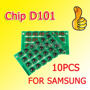 10pcs MLT D101 chip compatible for mlt-d101s Ml 2160 2165 2168 SCX 3400 3405 3402 ++