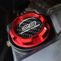 Red Aluminum MUGEN POWER ENGINE Oil Cap  For Honda Accord SI Element ACURA INTEGRA S2000 PRELUDE CRV PRELUDE CIVIC TYPE-R