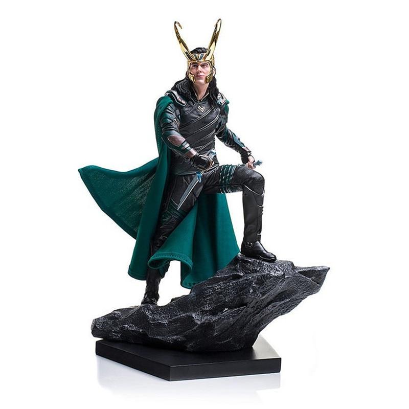 25cm Thor Ragnarok Marvel Comics Loki 1/6TH scale collectible Ragnarokr action figure Battle scene Marvel's The Avengers toys